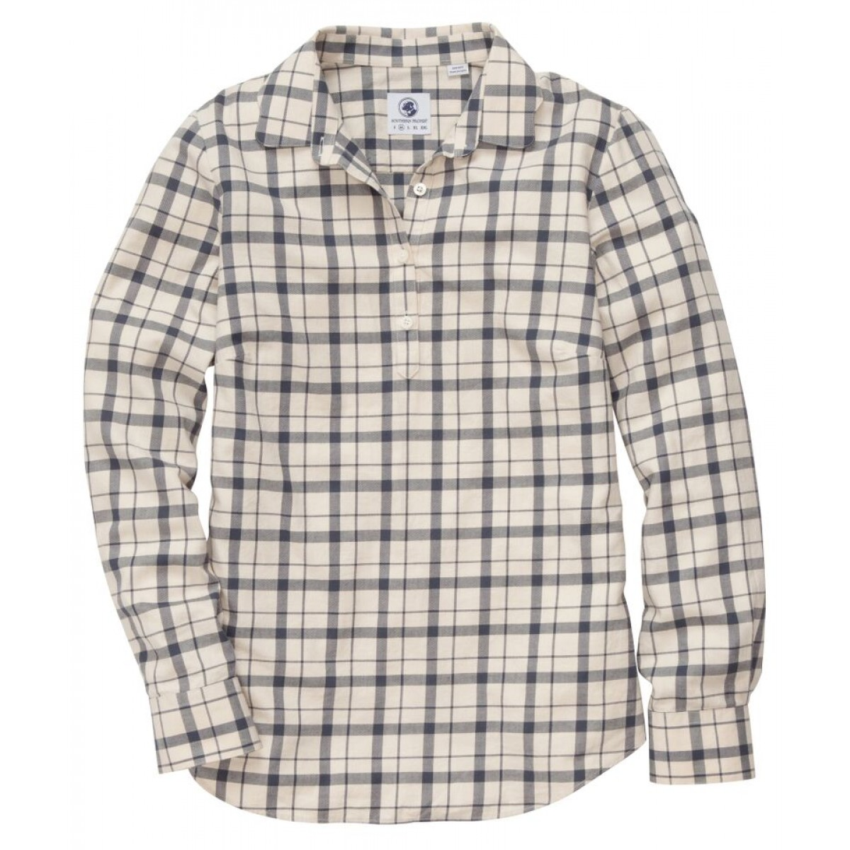 Hanna Plaid Brooks Popover